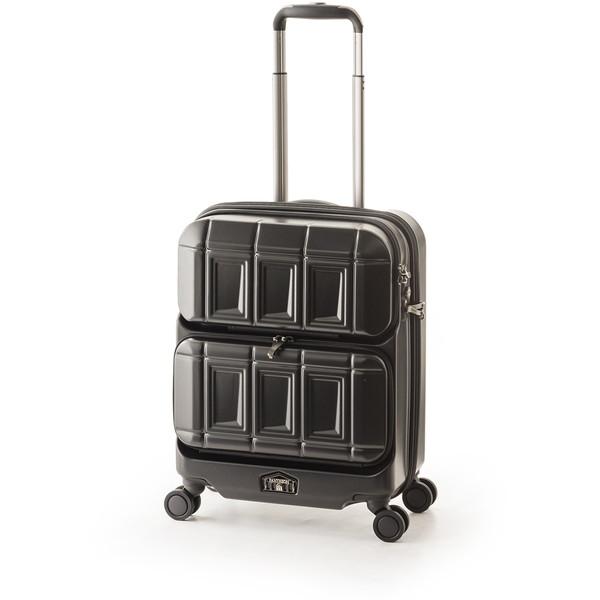 【送料無料】アジア・ラゲージ PTS-6005 マットブラック PANTEON [スーツケース (36L・1~2泊)]
