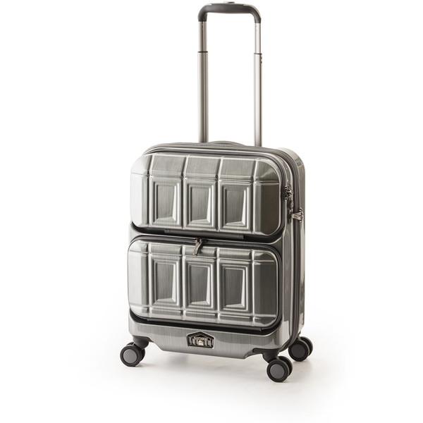 【送料無料】アジア・ラゲージ PTS-6005 ガンメタブラッシュ PANTEON [スーツケース (36L・1~2泊)]