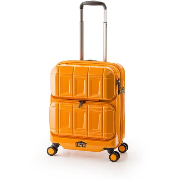 【送料無料】アジア・ラゲージ PTS-6005 オレンジ PANTEON [スーツケース (36L・1~2泊)]