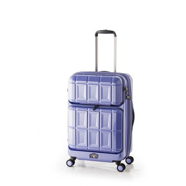 【送料無料】アジア・ラゲージ PTS-6006 アイスブルー PANTEON [スーツケース (54L+8L・2~3泊)]