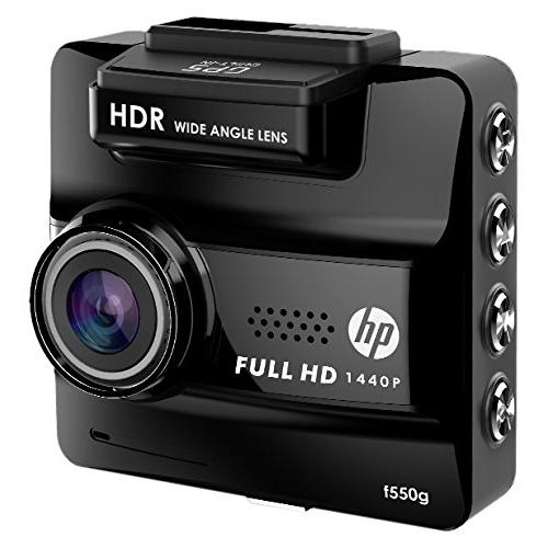【送料無料】HP f550g [GPS内蔵フルHDドライブレコーダー] 車載機器 高画質270万画素 常時録画 1年保証HDR/WDR搭載 カメラ一体型ドラレコ 光学6層ガラスレンズ+赤外線カットフィルター 対角156度 エンドレス録画 Gセンサー