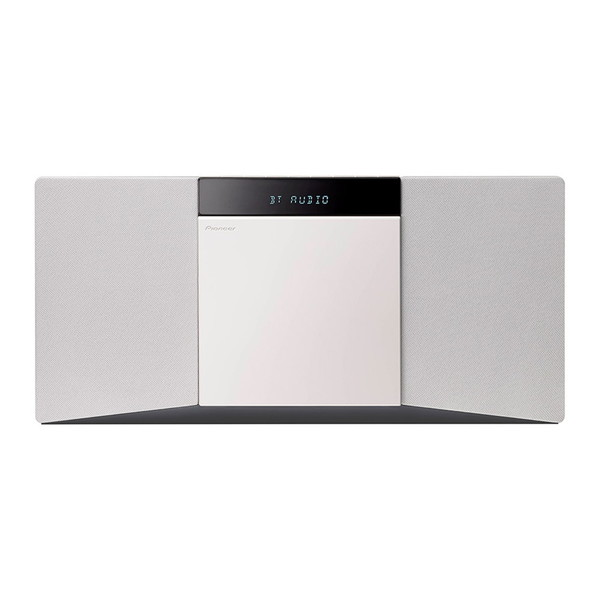 PIONEER X-SMC02(W) ホワイト [CDミニコンポ(Bluetooth対応・USB端子搭載)]