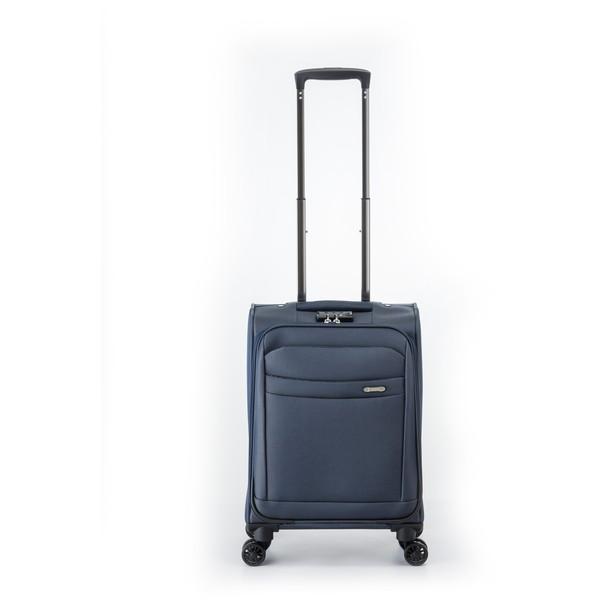 【送料無料】アジア・ラゲージ AG-5225-18 ネイビー [スーツケース (32L・1~2泊)]