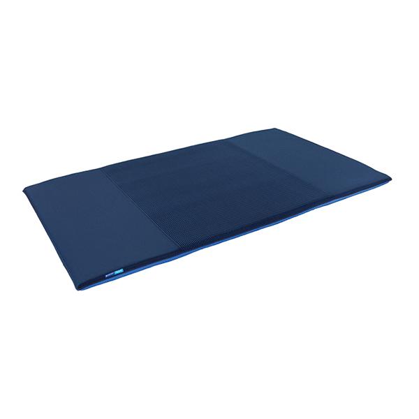 マットレス ダブル 高反発 折りたたみ 三つ折り 体圧分散 メッシュ加工 ゼンケン PT-300 キュービックボディプレミアム 高反発マット 通気性 腰痛 改善 吸湿 吸水 放熱 放湿 水洗い エアウィーブなど他ブランドでも同様の素材が使用されています。