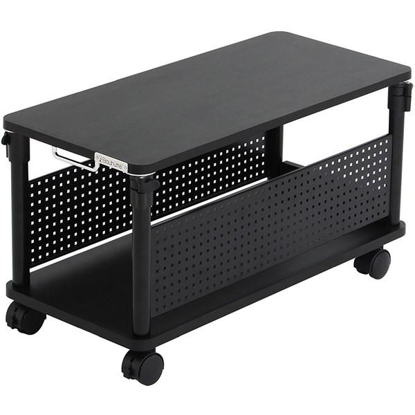 【送料無料】Bauhutte BHD-670L-BK ブラック [昇降式L字デスク(ロータイプ)]