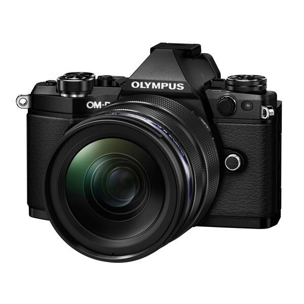 【送料無料】OLYMPUS OM-D E-M5 MarkII・12-40mm レンズキット(ブラック) [ミラーレス一眼カメラ (1605万画素)]