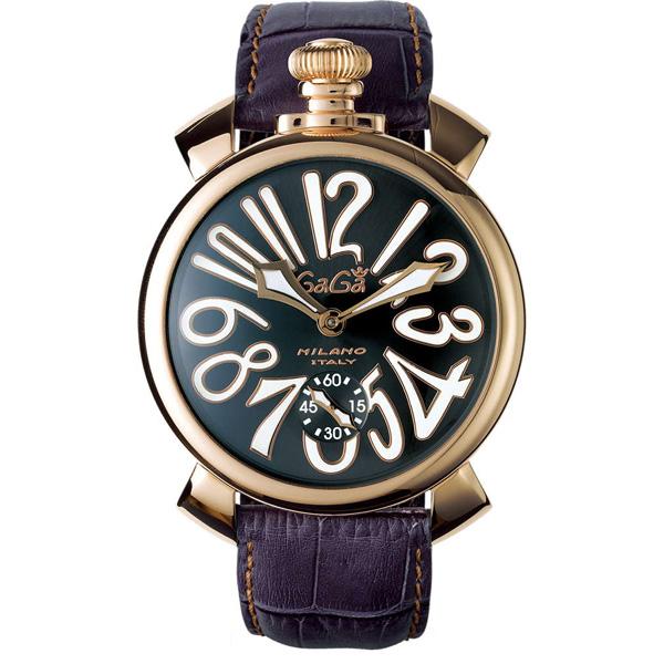 【送料無料】GAGA milano 5011.07S-GRY マヌアーレ 自動巻き [腕時計] 【並行輸入品】