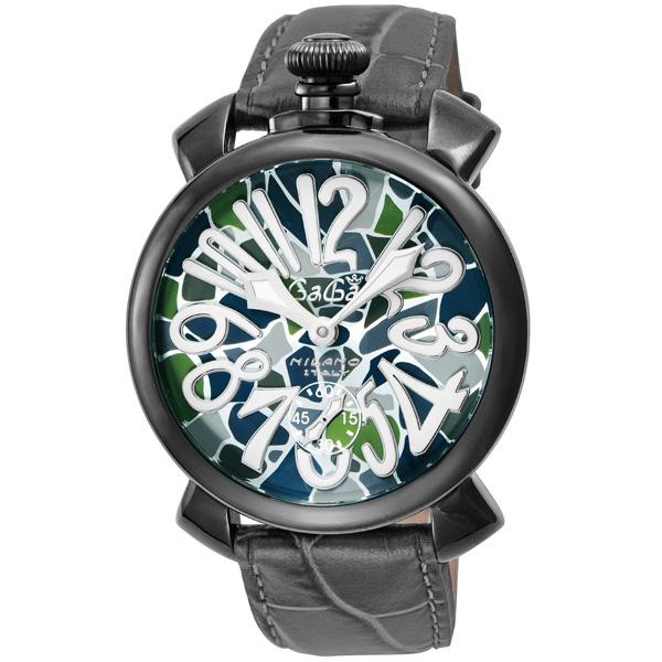 【送料無料】GAGA milano 5012MOSAICO01S-BLK マヌアーレ 自動巻き [腕時計] 【並行輸入品】
