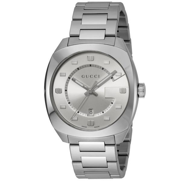 【送料無料】GUCCI(グッチ) YA142308 GG2570シリーズ [クォーツ腕時計 (メンズ)] 【並行輸入品】