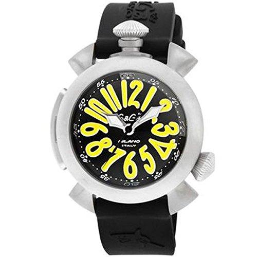 【送料無料】GAGA milano 5040.2-BLKRUBBER ダイビング 自動巻き [腕時計] 【並行輸入品】