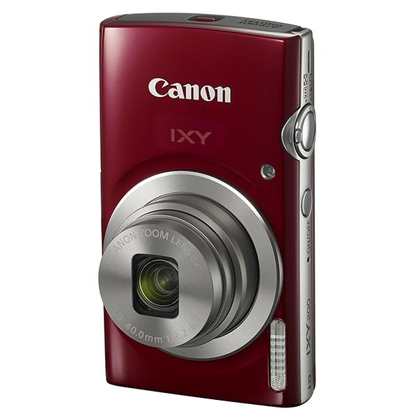 【送料無料】CANON IXY 200 レッド [コンパクトデジタルカメラ(2000万画素)]【同梱配送不可】【代引き不可】【沖縄・離島配送不可】