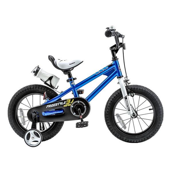 【送料無料】ROYAL BABY RB-WE FREESTYLE 16 blue (35967) [子供用自転車(16インチ)補助輪付き]【同梱配送不可】【代引き不可】【沖縄・北海道・離島配送不可】