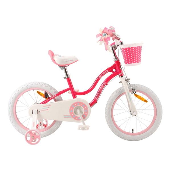 【送料無料】ROYAL BABY RB-WE STAR GIRL 16 pink (35991) [子供用自転車(16インチ)補助輪付き] 【同梱配送不可】【代引き・後払い決済不可】【沖縄・北海道・離島配送不可】