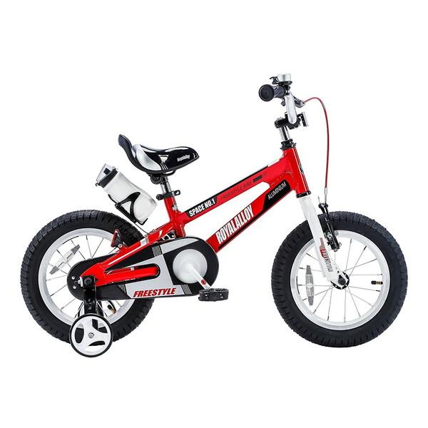 【送料無料】ROYAL BABY RB-WE SPACE NO.1 16 red (35983) [子供用自転車(16インチ)補助輪付き]【同梱配送不可】【代引き不可】【沖縄・北海道・離島配送不可】