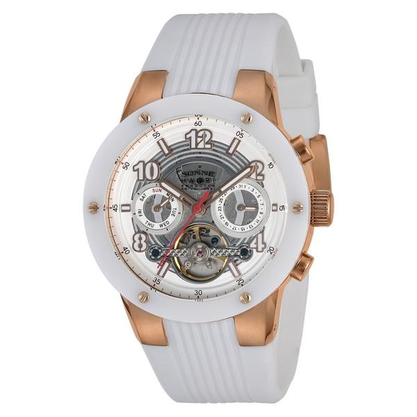 【送料無料】SONNE H017PG-WH ハオリ [腕時計(メンズ)]