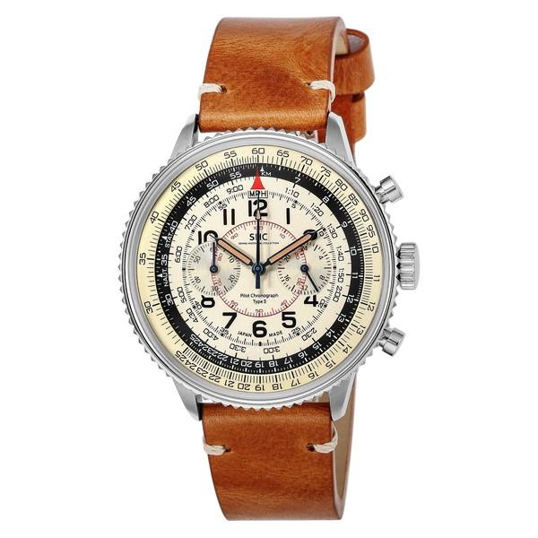 【送料無料】SONNE HI004BK-IV ヒストリカルコレクション [腕時計(メンズ)パイロットクロノグラフタイプII]