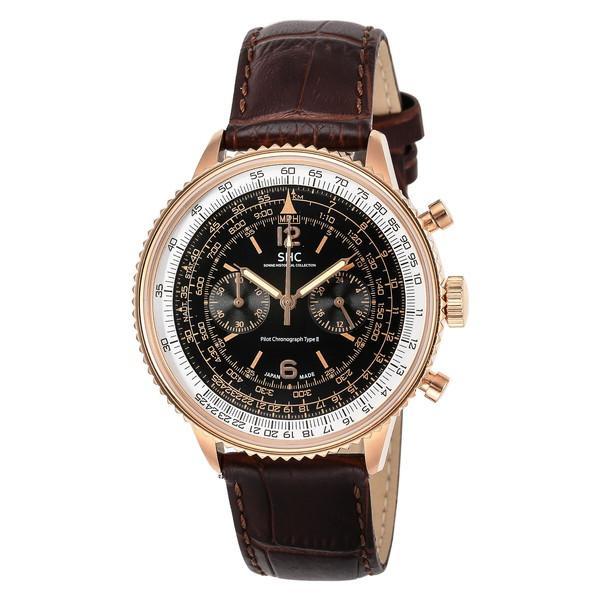 【送料無料】SONNE HI004PG-BR HI004PG-BR ヒストリカルコレクション [腕時計(メンズ)パイロットクロノグラフタイプII], ニシハルチョウ:99993b7b --- sunward.msk.ru