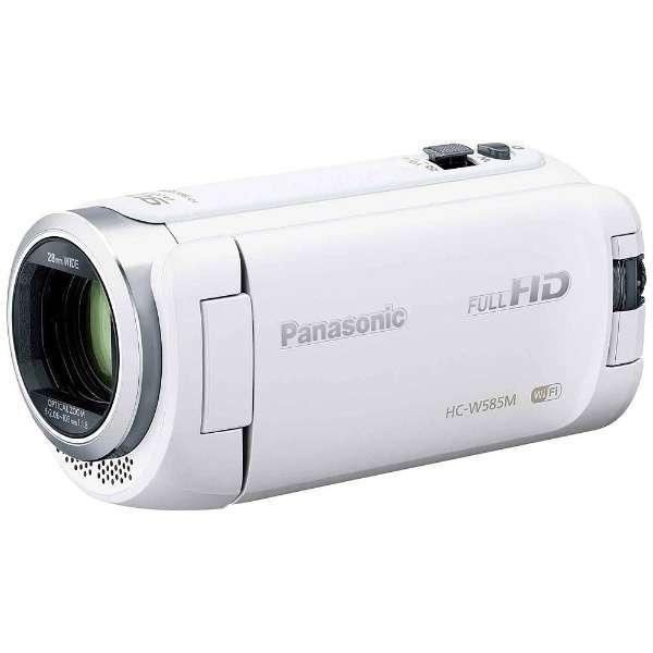 【送料無料】PANASONIC HC-W585M-W ホワイト [デジタルハイビジョンビデオカメラ(SD対応・64GBメモリー内蔵)]