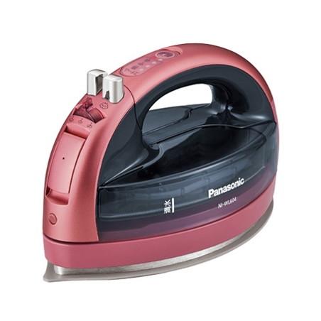【送料無料】PANASONIC NI-WL604-P ピンク カルル [コードレススチームアイロン]