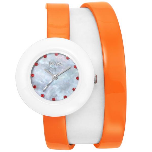 Folli Follie(フォリフォリ) WF13F030SSO-OR ハート フォーハート ツインウォッチ [クォーツ腕時計 (レディース)] 【並行輸入品】