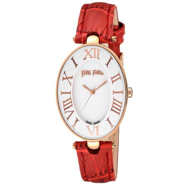 【送料無料】Folli Follie(フォリフォリ) WF14R025SPS-RE ロマンス [クォーツ腕時計 (レディース)] 【並行輸入品】