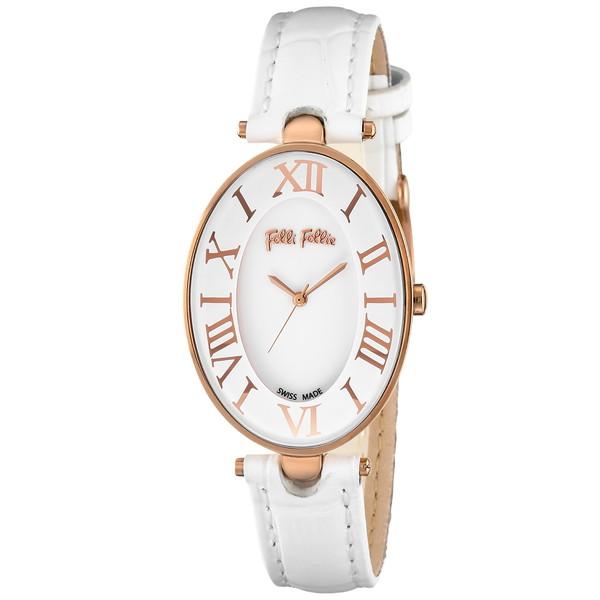 【送料無料】Folli Follie(フォリフォリ) WF14R025SPS-WH ロマンス [クォーツ腕時計 (レディース)] 【並行輸入品】