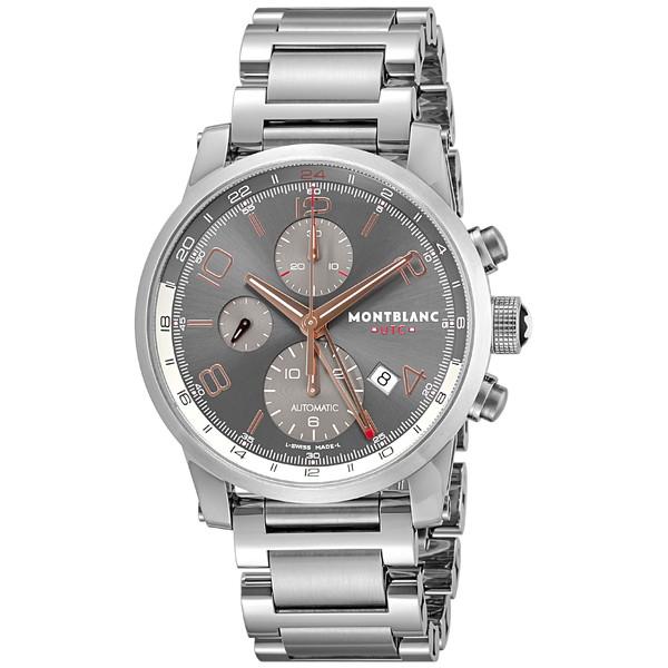 【送料無料】Montblanc(モンブラン) 107303 タイムウォーカー クロノボイジャー UTC [自動巻き腕時計 (メンズ)]