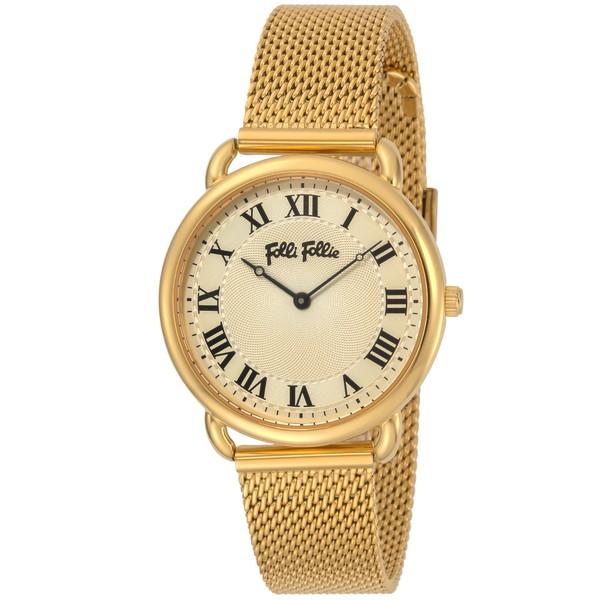 【送料無料】Folli Follie(フォリフォリ) WF16G013BPZ パーフェクトマッチ [クォーツ腕時計 (レディース)] 【並行輸入品】