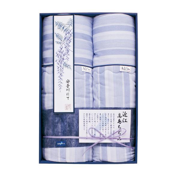 【送料無料】TK87200 近江高島ちぢみ さらさら肌布団2P