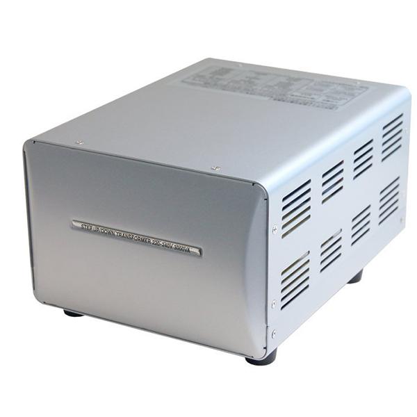 【送料無料】カシムラ NTI-119 [海外国内用薄型変圧器220-240V/3000VA]