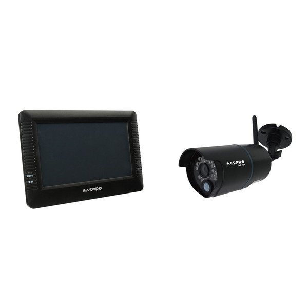 【送料無料】MASPRO WHC7M2 [モニター&ワイヤレスHDカメラセット] マスプロ モニタ フルハイ hdmi セキュリティ