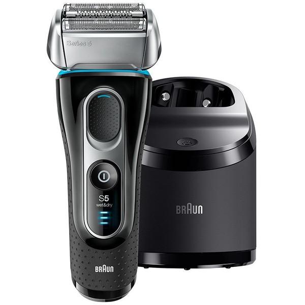洗浄器付モデル] シリーズ5 5197cc 【送料無料】BRAUN(ブラウン) [シェーバー(3枚刃・充電式)