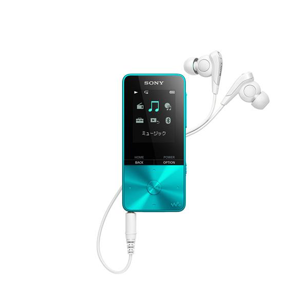 【送料無料】SONY NW-S313-L ブルー WALKMAN Sシリーズ [メモリーオーディオ (4GB)]