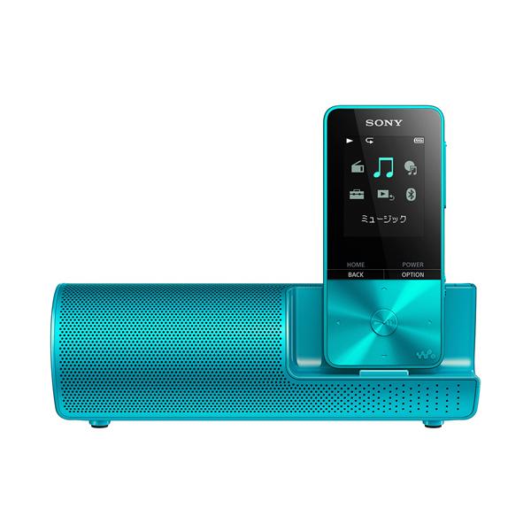 SONY NW-S315K-L ブルー WALKMAN Sシリーズ [メモリーオーディオ (16GB) スピーカー付属モデル]