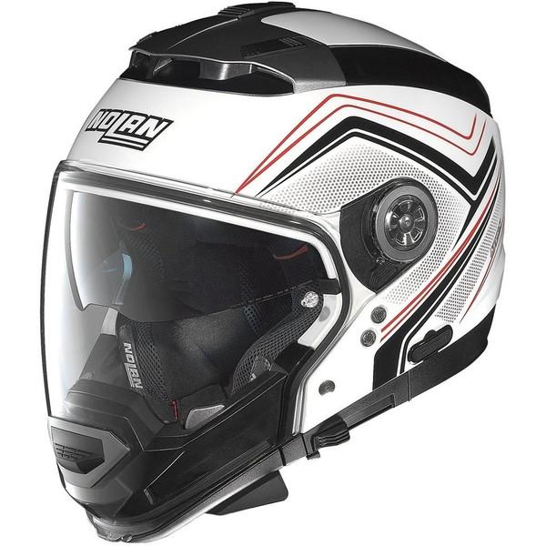 【送料無料】デイトナ D95851 メタルホワイト NOLAN(ノーラン) [フルフェイスヘルメット(Mサイズ)]