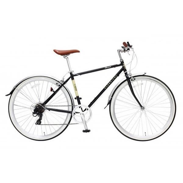 【送料無料】TOP ONE YCR7007-6D-BK ブラック CLASSICAL [クロスバイク (700×28インチ・7段変速)]【同梱配送不可】【代引き不可】【沖縄・北海道・離島配送不可】
