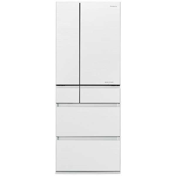 【送料無料】PANASONIC NR-F603HPX-W マチュアホワイト [冷蔵庫(600L・フレンチドア)]