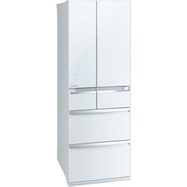 【送料無料】MITSUBISHI MR-WX47C-W クリスタルホワイト 置けるスマート大容量 WXシリーズ [冷蔵庫 (470L・フレンチドア)] MRWX47CW