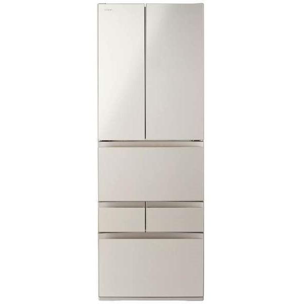 【送料無料】東芝 GR-M460FD(EC) サテンゴールド VEGETA FDシリーズ [冷蔵庫(462L・フレンチドア)]