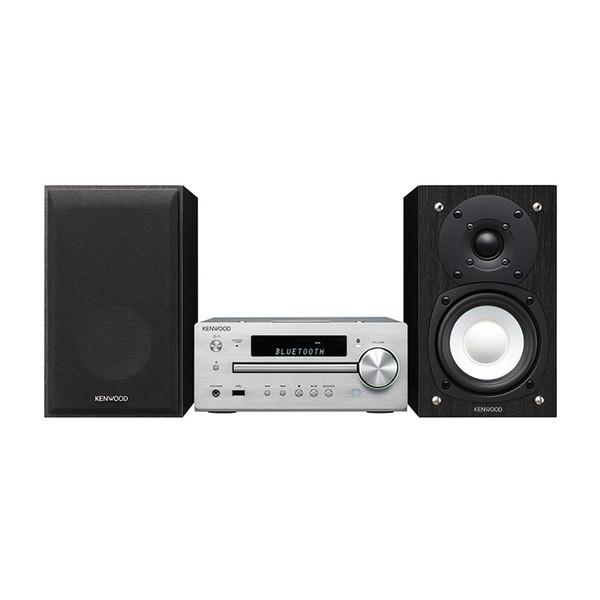 KENWOOD K-515-S シルバー Kseries [ミニコンポ(ハイレゾ音源・ワイドFM対応)]