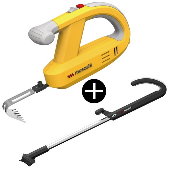 ムサシ WE-750 ハンドルセット [充電式 除草バイブレーター フルわせて抜く(振動)] 振動除草 草むしり電動工具