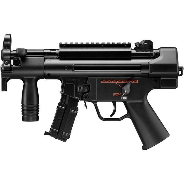東京マルイ MP5K HC No.8 [電動ガン ハイサイクルカスタム(対象年令18才以上)] サバゲー エアガン 電動ガン カスタム ライフル マシンガン カラス 害鳥 スズメ ネズミ除け コスプレ ブローバック 小道具 威力 飛距離 精度 重厚感 安全装置
