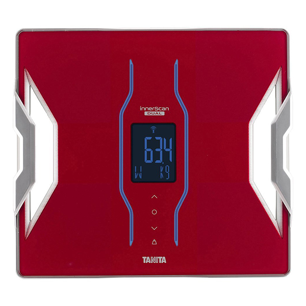 【送料無料】タニタ 体重計 RD-906-RD レッド インナースキャンデュアル TANITA RD906 スマホ対応 アプリ 体組成計 体脂肪計 日本製 バックライト Bluetooth iphone Android 推定骨量 筋肉量 内臓脂肪