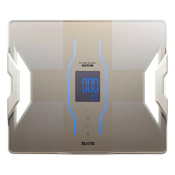 【送料無料】タニタ 体重計 RD-907-GD ゴールド インナースキャンデュアル TANITA RD907 スマホ対応 アプリ 体組成計 体脂肪計 日本製 バックライト 体重50g単位 Bluetooth iphone Android RD-909と同等品