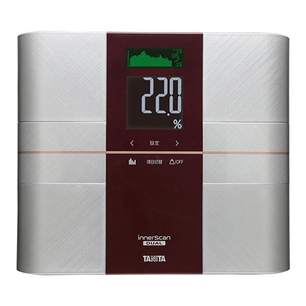 【送料無料】タニタ 体重計 RD-503-RD レッド インナースキャンデュアル デュアルタイプ RD503 TANITA 体組成計 体脂肪計 日本製 バックライト 健康 ダイエット 筋質 筋肉量 体脂肪率 BMI 内臓脂肪 体内年齢