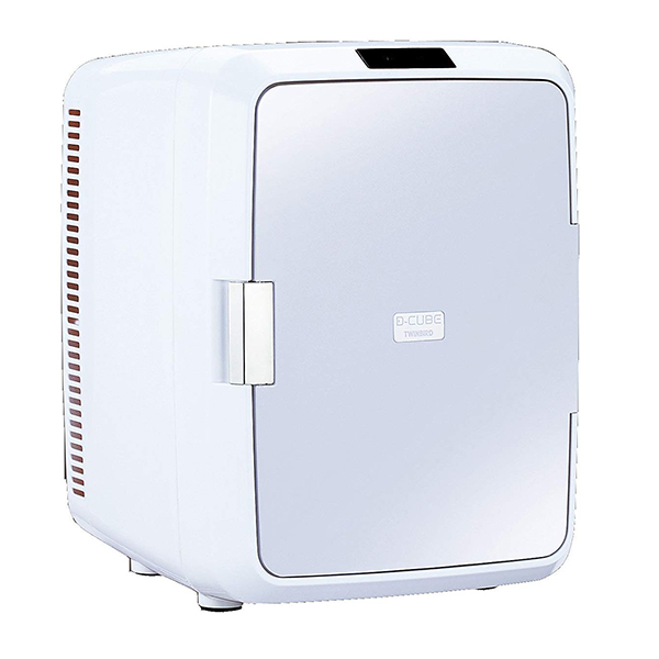 【送料無料】ツインバード TWINBIRD HR-DB08GY グレー 2電源式コンパクト電子保冷保温ボックス 冷温庫 温冷庫 20L 静音 小型冷蔵庫 保冷庫 保温庫 AC100V/DC12V対応 車載 アウトドア 寝室 ペルチェ式