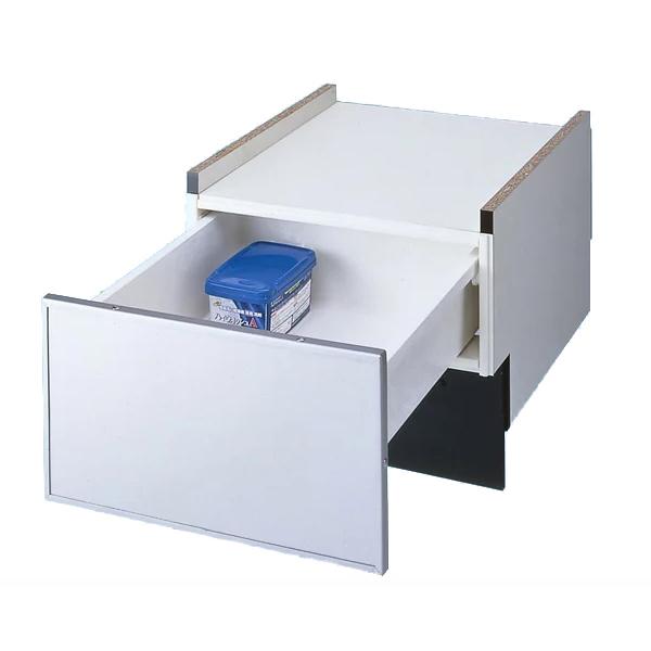 【送料無料】PANASONIC N-PC450S シルバー [ビルトイン食器洗い乾燥機下部収納キャビネット (幅45cmドアパネル専用)]