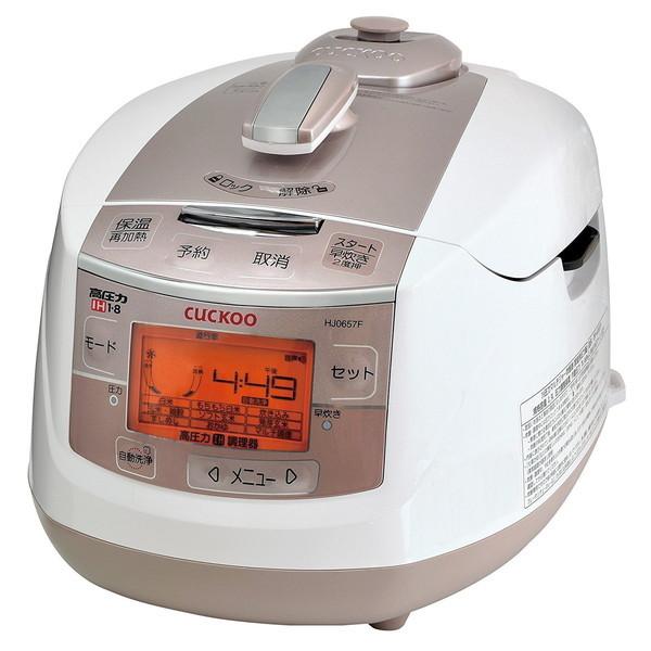 【送料無料】発芽玄米炊飯器 CUCKOO 1.8気圧 IH 高圧力 6合炊き CRP-HJ0657F New圧力名人DX 正規代理店 クック CRPHJ0657F 父の日2019家庭用家電