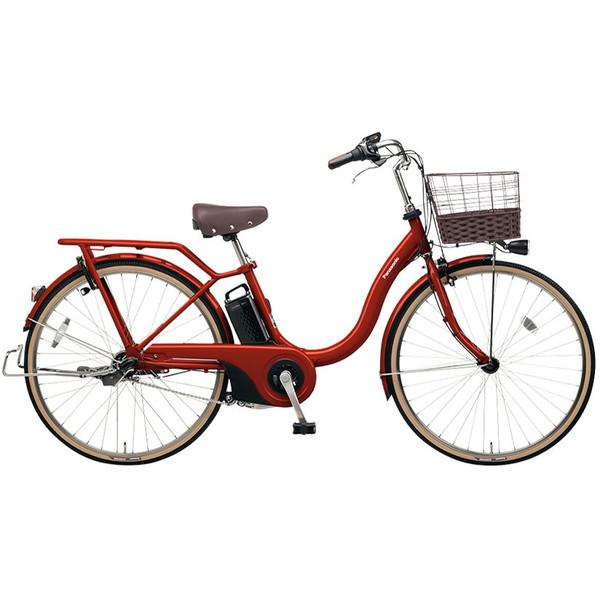 【送料無料】PANASONIC BE-ELSL63-R クラシカルレッド ティモ・L [電動アシスト自転車(26インチ・内装3段変速)] 【同梱配送不可】【代引き・後払い決済不可】【本州以外の配送不可】