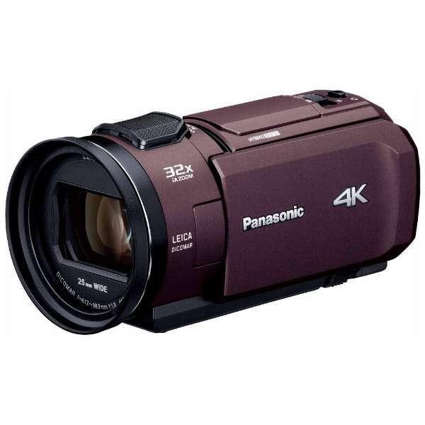 【送料無料】PANASONIC HC-VX1M-T ブラウン [デジタル4Kビデオカメラ (SD対応 64GBメモリー内蔵)]